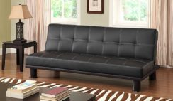 Primo International Phyllo Convertible Faux Leather Bed