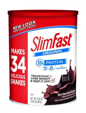 Slim Fast Original Meal Replacement Shake Mix best shakes for weight loss