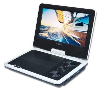 SYNAGY A29 9inch Portable DVD Player & CD Player