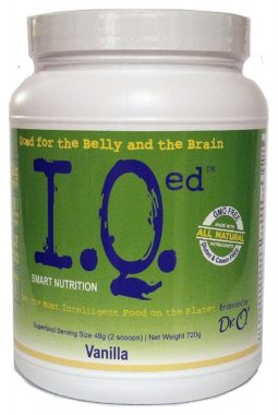 IQed Smart Nutrition All in One Nutritional Shake best meal replacement shakes for weight loss reviews