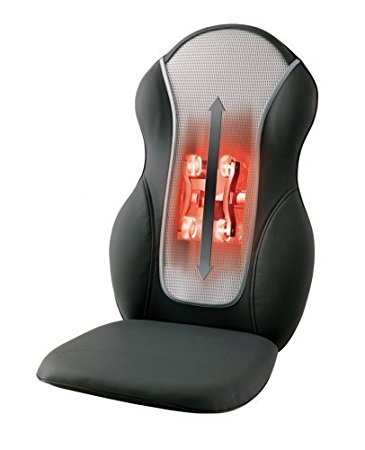 Homedics QRM-400H Therapist Select Quad-Roller Shiatsu & Rolling Massaging Cushion with Heat