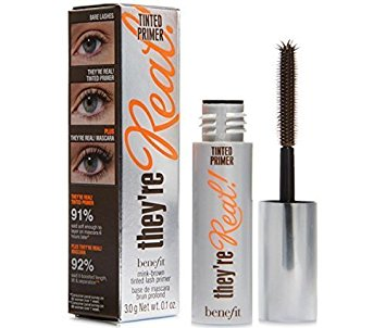 Benefit They're Real Tinted Lash Primer Deluxe Travel Size .1 Oz