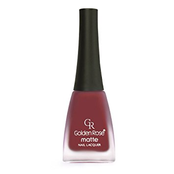 Golden Rose Matte Nail Polish - 05 Tall Poppy