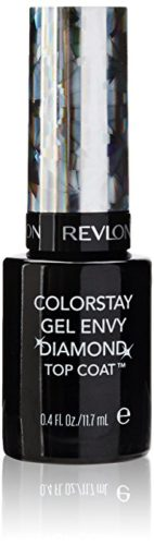 Revlon Colorstay Gel Envy Longwear Nail Enamel, Diamond Top Coat, 0.4 Fl Oz