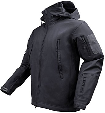 Maelstrom? TAC PRO Soft Shell Tactical Jacket, Black, Size M