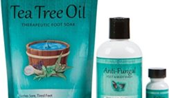 Toenail Fungus Treatment with Antifungal Soap, Tea Tree Oil Foot Soak and ReNew Topical Solution - Helps Treat and Restore the Appearance of Fungus Infected Nails