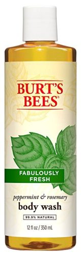 Burt's Bees Peppermint and Rosemary Body Wash, 12 Ounces