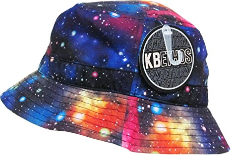 KBETHOS Galaxy Bucket Hat, One Size (Medium to Large), (Galaxy) Black