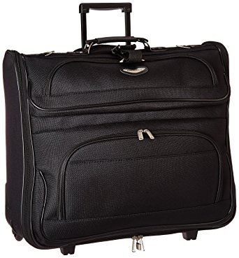 Travel Select Luggage Amsterdam Business Rolling Garment Bag, Black, One Size