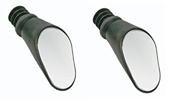 Sprintech Drop Bar Mirror , Black, Pair