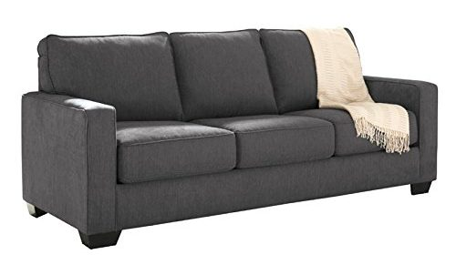 Ashley Furniture Queen Size Pull-Out Sofa Sleeper with Memory Foam Mattress