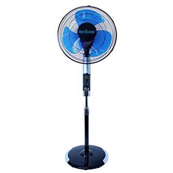 Hurricane Super 8 Digital Stand Fan, 16-Inch