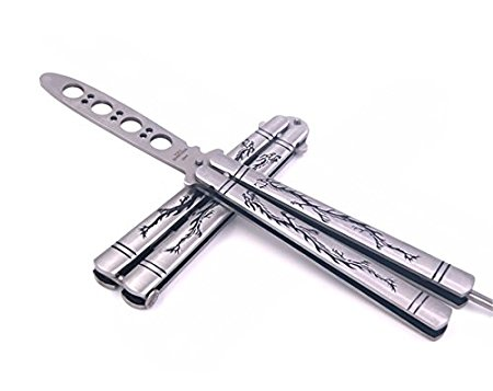 iThings J(TM) 1 pcs Practice Trainer Knife Tool Butterfly Knife