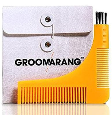 Beard Styling and Shaping Template Comb Tool