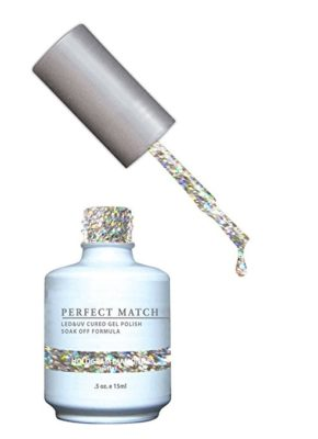 LECHAT Perfect Match Nail Polish, Hologram Diamond, 0.500 Ounce