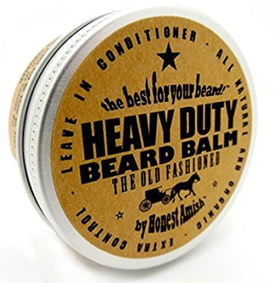 Honest Amish - Heavy Duty Beard Balm - 2 Ounce - Beard Conditioner