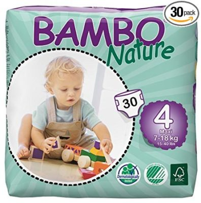 Bambo Nature Maxi Baby Diapers, Size 4 , 30