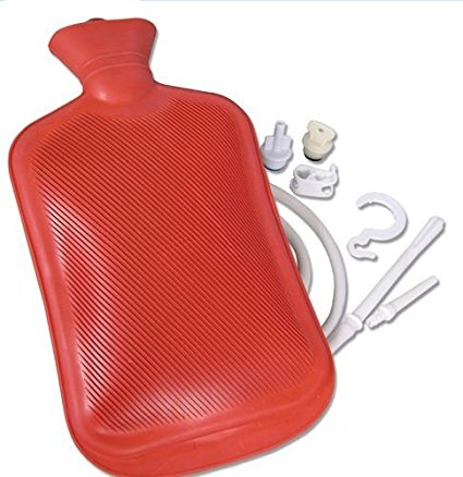 Jobar International - Deluxe Hot Water Bottle Kit,Holds 1.75 Quarts of Water
