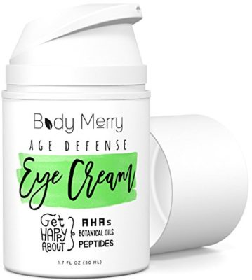 Eye Cream for Dark Circles, Wrinkles, Puffiness, Crow's Feet, Fine Lines & Bags - 1.7 Ounces - Best Natural & Organic Anti-Aging Formula