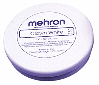 Mehron Clown White 2.25 Ounce
