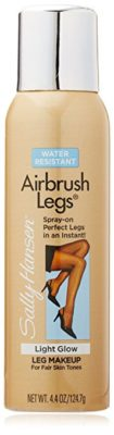 Sally Hansen Airbrush Legs Leg Makeup Light Glow, 4.4 Ounce