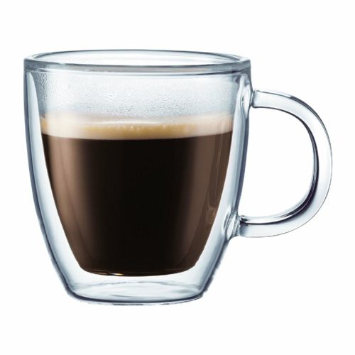 However, Nothing Can Beat How The Bodum Bistro Double Wall Insulated Glass  Espresso Mugs Update Trends And Standards Of The Espresso Cup ...