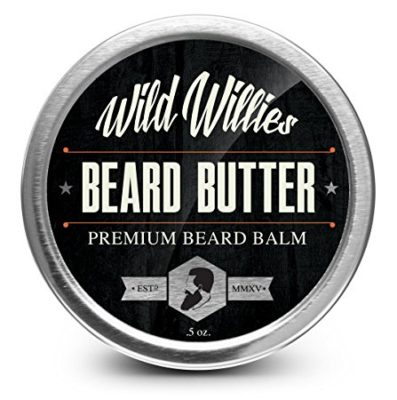 Wild Willie's Beard Balm-Leave In Conditioner Beard Butter, Made with 13 Natural Locally Sourced Ingredients That Condition and Style Your Beard or Mustache At the Same Time. Hand made in the USA .5oz