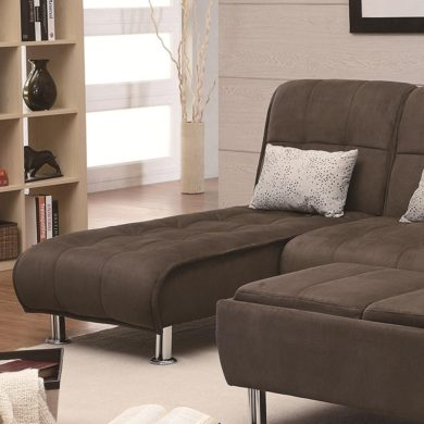 Coaster Home Furnishings Transitional Chaise
