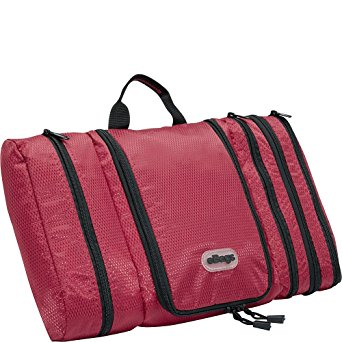 eBags Pack-it-Flat Toiletry Kit (Raspberry)