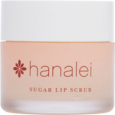 Maui Sugar Lip Scrub with Kukui Nut Oil by Hanalei Beauty Company (Cruelty-free) Net Weight 22g