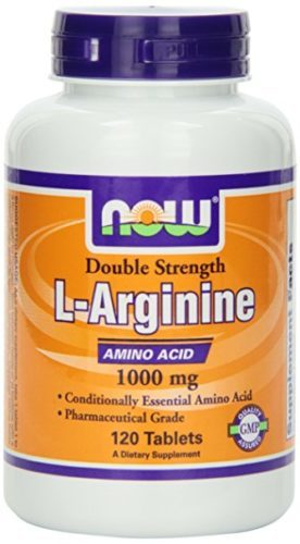 NOW Foods L-Arginine 1000mg, 120 Tablets