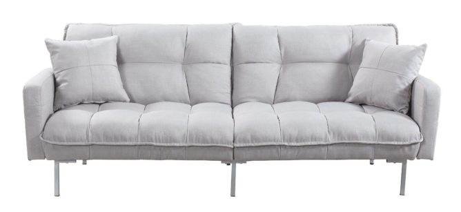 Divano Roma Furniture Collection Modern Plush Tufted Living Room Sleeper Sofa