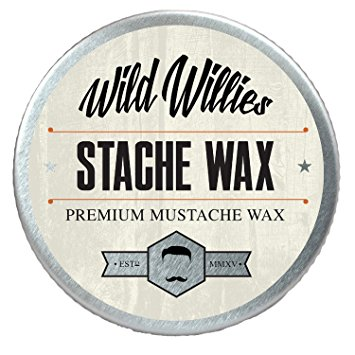 Wild Willie's Mustache Wax Original - The Only Hard Wax with 7 Natural Organic Ingredients for All Day Hold While Treating Your Mustache at the Same Time. Every Batch Made By Hand in the USA. .5 Ounce. Manufacturer: The Manskape Co.