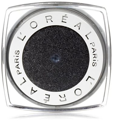 L'Oreal Paris Infallible 24 HR Eye Shadow, Eternal Black, 0.12 Ounces