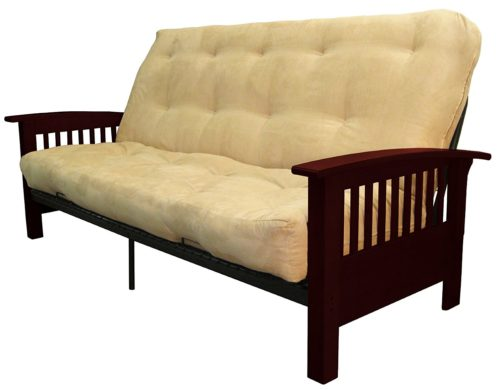 Epic Furnishings Brentwood Mission-Style Sofa Sleeper Bed
