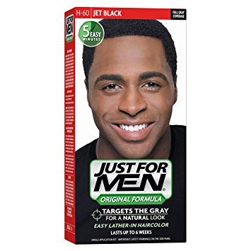 Just For Men Original Formula Men's Hair Color, Jet Black (Pack of 3)