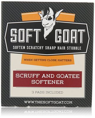 The Soft Goat Stubble and Goatee Softener, 3 Count