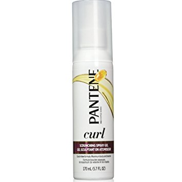 Pantene Pro-V Curl Scrunching Spray Hair Gel 5.7 Oz (Pack of 3)