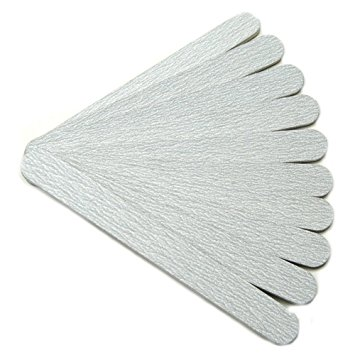 Professional Nail files zebra file emery board 100/100 grit pack of 10