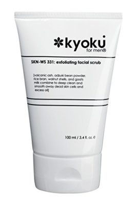 Kyoku For Men Exfoliating Facial Scrub | Kyoku For Men Face Scrub, A Gentle Acne Treatment For Men (3.4oz)