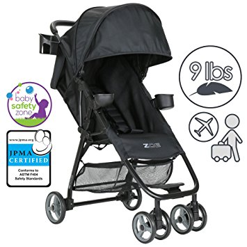 ZOE Umbrella XL1 Single Stroller, BEST - Black