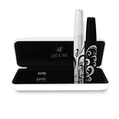 3D Fiber Lash Mascara Set - Improved Formula for 300X Length and Volume, Waterproof, Hypoallergenic - with FREE Mascara Application Guide
