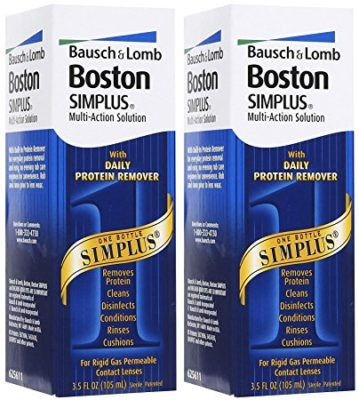 Boston Simplus Multi-action Solution, 3.5 Fluid Ounce, 2-pack