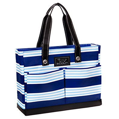 SCOUT Uptown Girl Tote, Blue Line