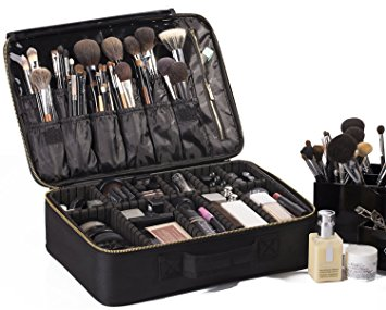 "ROWNYEON Portable EVA Professional MakeupCase 16.14""/ Makeup Artist Case / Makeup Train Case/MakeUp Artist Organizer Bag"