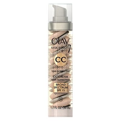 Olay CC Cream, Total Effects Tone Correcting Moisturizer with Sunscreen, Light to Medium 1.7 fl. oz.