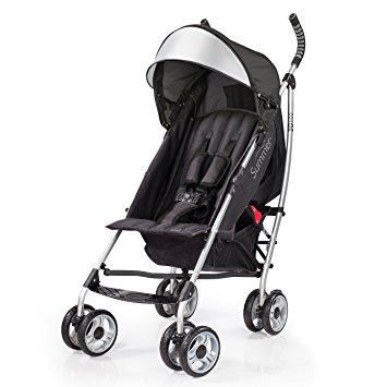 Summer Infant 3Dlite Convenience Stroller, Black